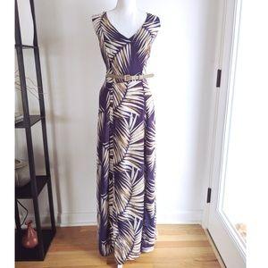 •Anne Klein• Tropical dress